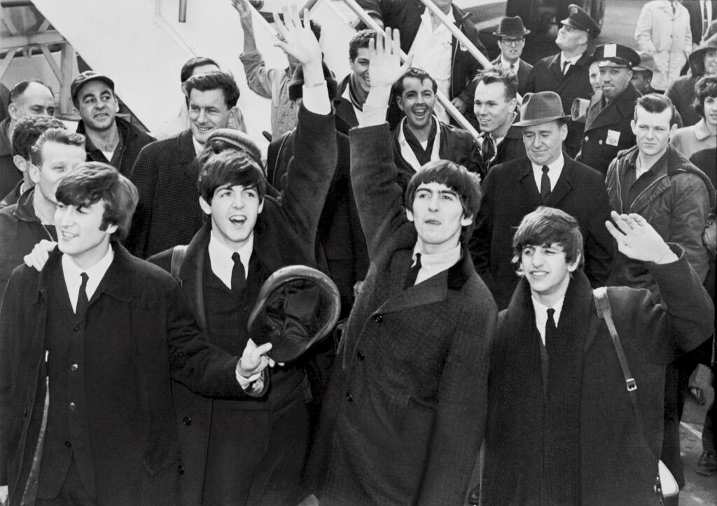 Famous People in the 1960s - The Beatles
