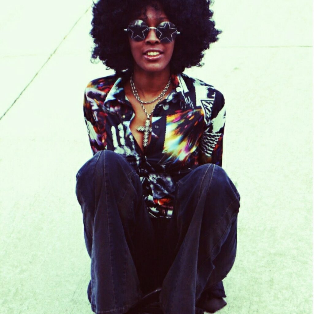 1960s hair - afro