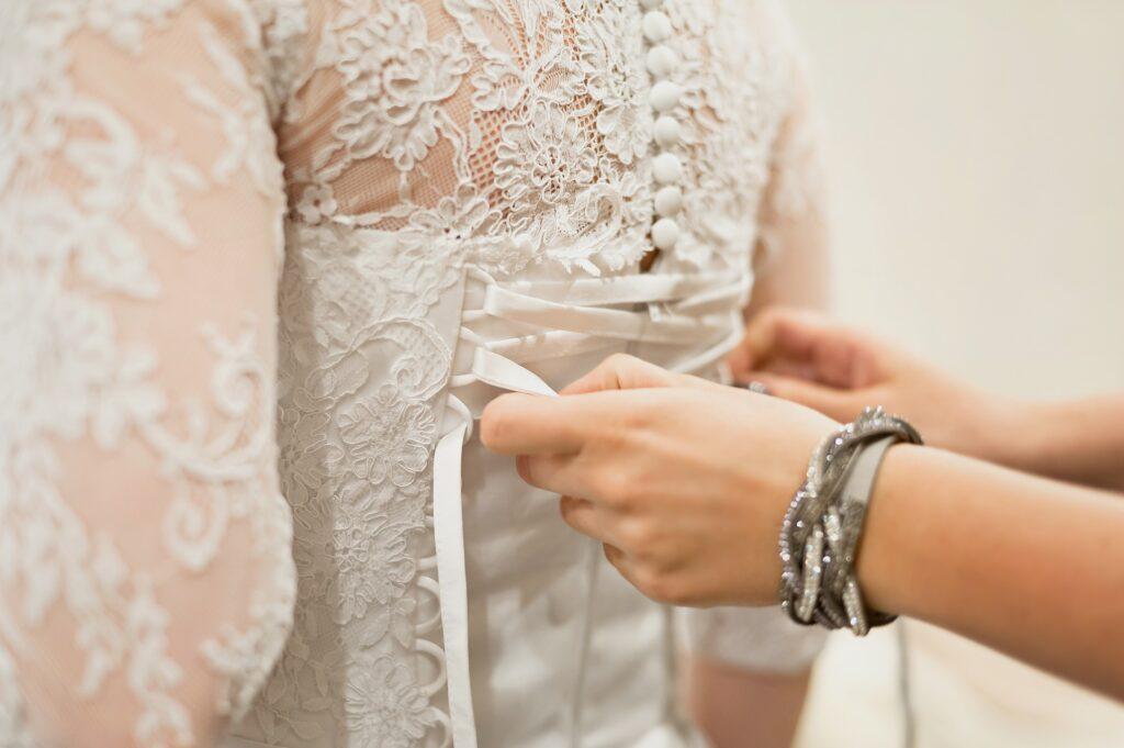 Corset Lingerie, bridal lace corset