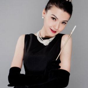 Black Wedding Gloves Elegant Satin Audrey Hepburn Fingertips Long Evening Gloves