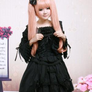 Lace Cotton Gothic Lolita Dress