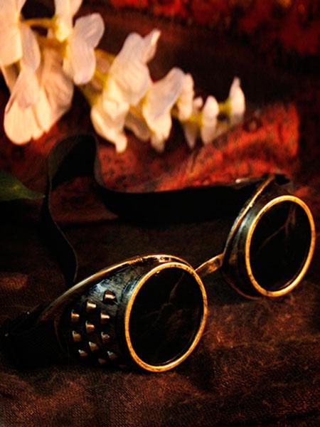 Steampunk Halloween Goggles Bronze Glasses Vintage Costume Accessories Halloween