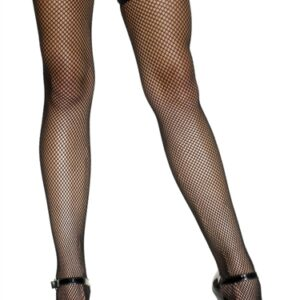Fishnet Stockings - Black Fv-559