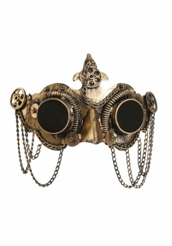 Deluxe Steampunk Goggles Mask for Adults