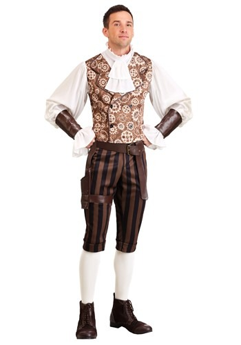 Men's Dapper Steampunk Costume
