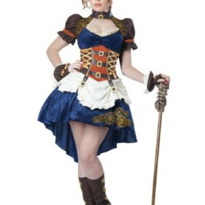Plus Size Steampunk Fantasy Costume for Women