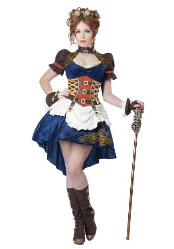 Plus Size Steampunk Fantasy Costume for Women