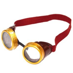 Steampunk Brown Costume Goggles