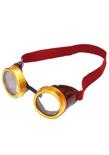 Steampunk Brown Costume Goggles