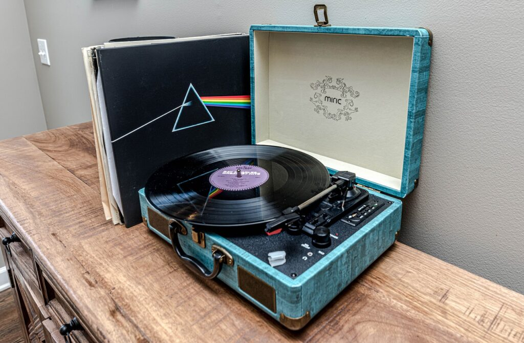 Vintage Stores Near Me - record player