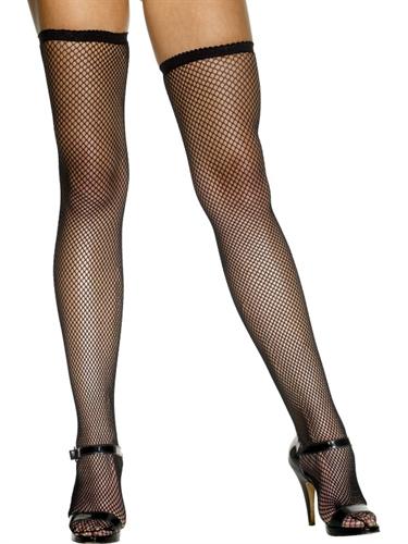 Fishnet Stockings - Black Fv-559