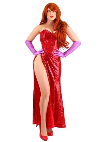 Plus Size Women's Scarlet Singer Costume