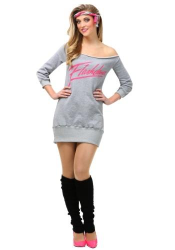 Women's Plus Size Flashdance Costume