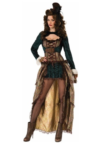 Madame Steampunk Costume for Women