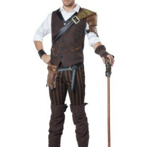 Steampunk Adventurer Costume for Men