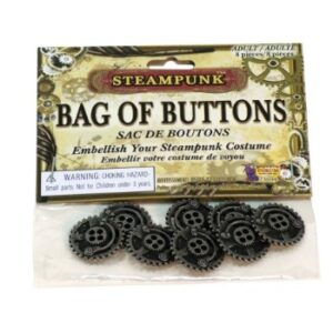 Steampunk Buttons Accessory