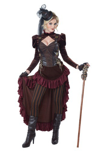 Victorian Steampunk Costume for Women